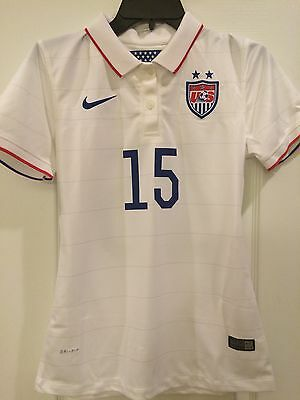 Authentic Nike USA 2014/15 Home Soccer Jersey- Rapinoe- Style 578013-103 Sz: S