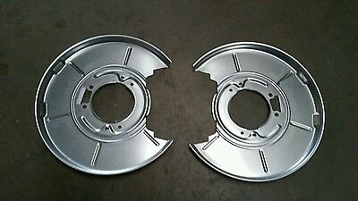BMW 316i - 325i E36 E46 NEW REAR BRAKE BACK PLATE SHIELD SET LEFT RIGHT PAIR