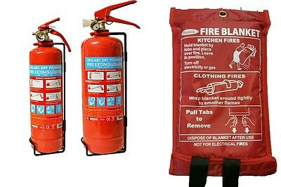 Fire Blanket Home Kitchen Work Place Safety Quick Release Fighting Protection