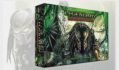 Legendary Encounters - A Predator Deck Building Game - Upper Deck - Engl. NEU !