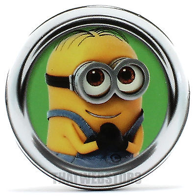 "Despicable Me Minion Dave 1.25"" Button ~ Officially Licensed ~ NEW"