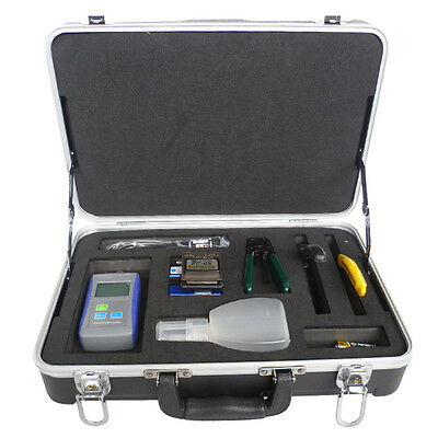Fiber Optic FTTH Tool Kit Tool Set Power meter Fiber clever Visual Fault Locator