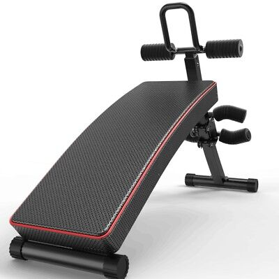 Brand New Adjusts steel frame Ab Abdominal Sit Up Folding Bench Gym Fitness