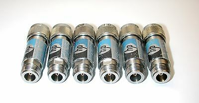 Lot of 6 HP 8491B Fixed Coaxial Attenuators