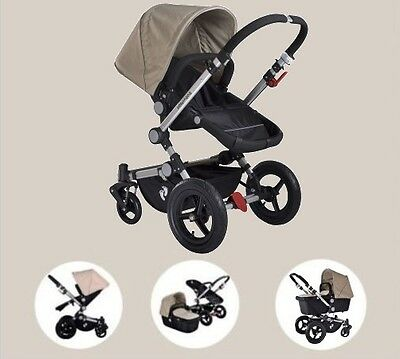 BRAND NEW STYLISH & VERSATILE- 2 IN 1 Baby Pram & Bassinet - 3 Colors Available
