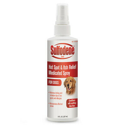 Sulfodene Medicated Hot Spot & Itch Relief Spray 8oz Free Shipping