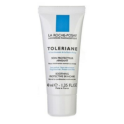 La Roche-Posay Toleriane Soothing Protective Skincare 40ml Moisturizer NEW #1711