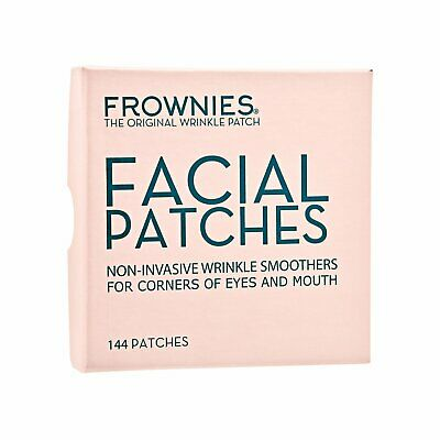 144 PCS FROWNIES Facial Patches for Wrinkles on Eyes & Mouth Corners Box#7934