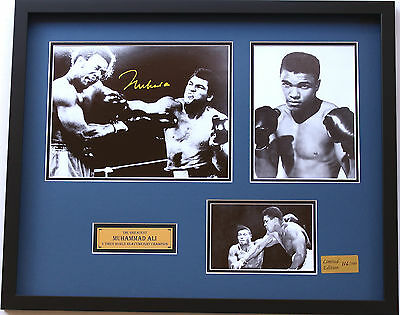 New Muhammad Ali Signed Limited Edition Memorabilia