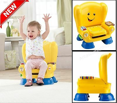 FisherPrice Kids Activity Smart Chair Seat Play Center Leaning Musical Education