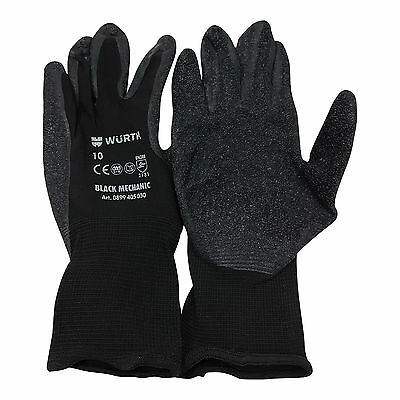 Wurth Mechanics Gripper Gloves (XL-10) 1 x pair