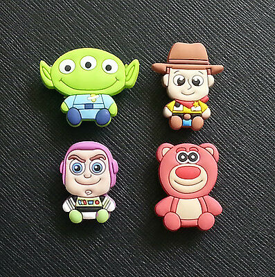 4 x Toy Story Babies Buzz Woody Shoe Charms Crocs Jibbitz Decorations Pumpkins
