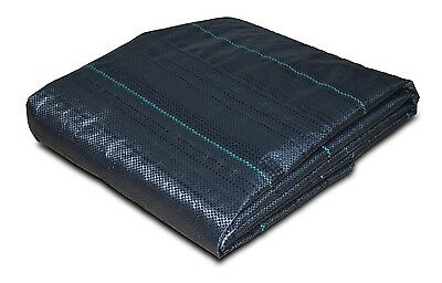 ZEBEL 10m x 1m 100gsm Geotextile Weed Control Ground Cover Fabric Membrane Sheet