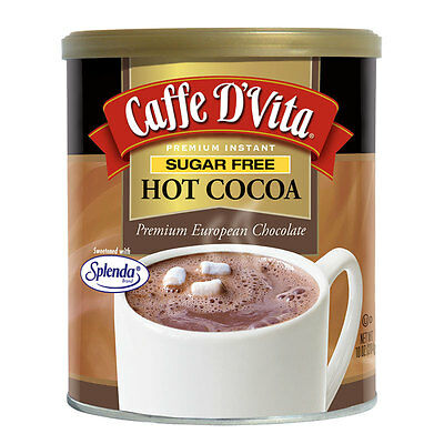 Caffe D'Vita Sugar Free Hot Cocoa 283 g, Low Carb, Low Fat