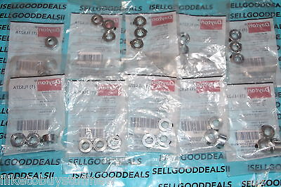"(30) Dayton 1L627A Shaft Collar 7/16"" Set Screw Style New"