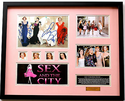 New Sex and the City Signed Limited Edition Memorabilia Framed