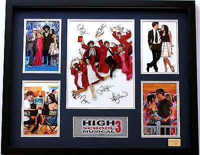 New High School Musical Signed Limited Edition Memorabilia Framed