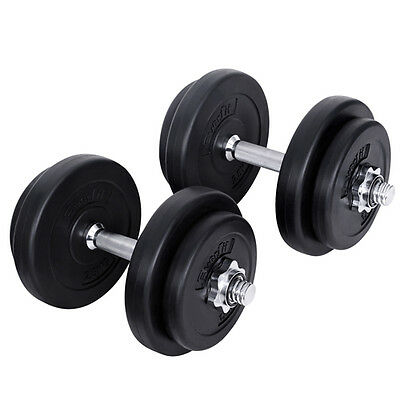 20kg Fitness Gym Exercise Dumbbell Set Dumb Bells Weight Lifting Exercise