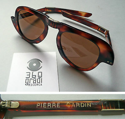 Pierre Cardin occhiali da sole vintage folding sunglasses '60