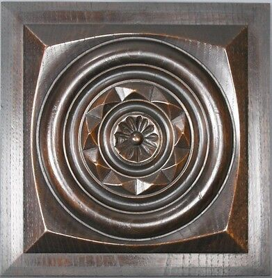 Antique Architectural Carved wood Panel 19th • CAD $75.59