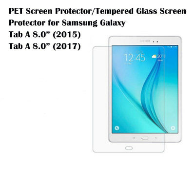 "For Samsung Galaxy Tab A 8.0"" Ultra Clear/Tempered Glass screen protector Film"