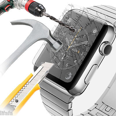 Apple Watch Tempered Glass Screen Protector for 38mm Front Cover iWatch Melbourn