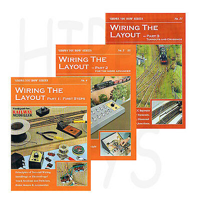 Peco Shows You How Booklets Wiring the Layout Parts 1, 2 & 3 Model Railway New