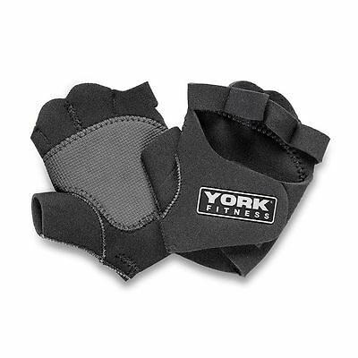 York Weight Lifting Gloves Gym Power Training Exercise Fitness Bodybuilding