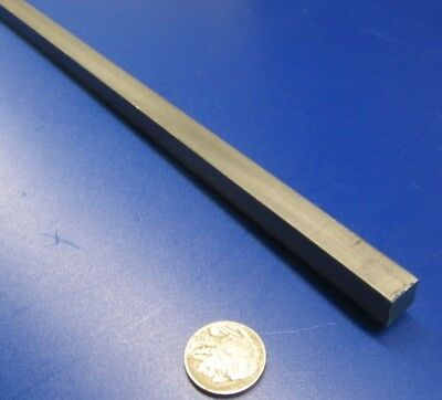 """Square 1018 Steel Bar, 3/8"""" Thick x 3/8"""" Wide x 36"""" Length, 2 Pcs"""
