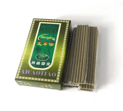 New Traditional 70pcs/box Smoke Moxa Roll Smoke Moxibustion Sticks 0.4CM*12CM