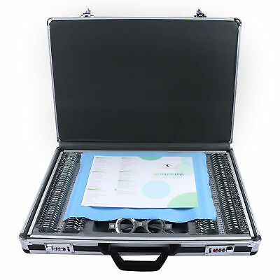 266 pcs Trial Lens Set Metal Rim Aluminum Case + 1 Free Trial Frame