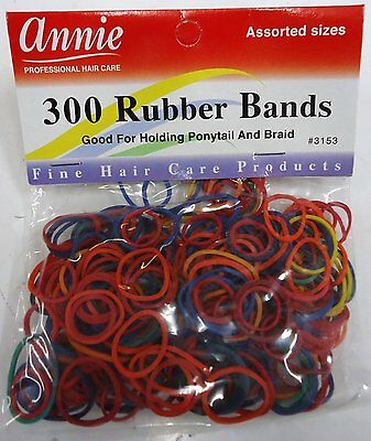 300 Rubber Band For Hair Coloured