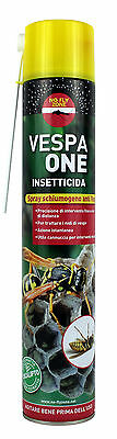 Vespa One Spray Schiumogeno Jet Insetticida Vespai Distanza 4 Mt Ml 750