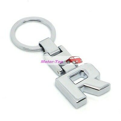 New Metal Pendant Car Keychain Keyring Key Chain Chains Ring For Letter R Series