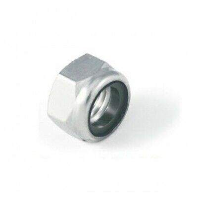 M6 Thin type nylon insert lock nut Nyloc Type. A4 stainless steel DIN985