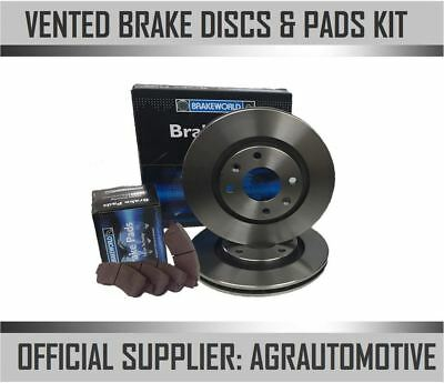 OEM SPEC FRONT DISCS AND PADS 274mm FOR FORD RANGER 2.5 TD 4WD 2002-06