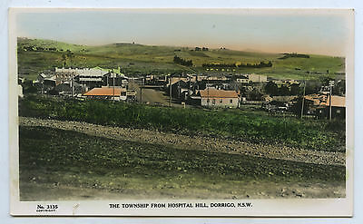 C1920 Rp Pu Tinted Postcard Of Dorrigo Nsw From Hospital Hill Y93