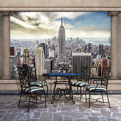 vlies wandbild tapeten fototapete modern new york stadt poster blick 3fx2812ve eur 1 00. Black Bedroom Furniture Sets. Home Design Ideas