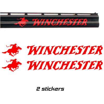 2x WINCHESTER Vinyl Decal Sticker. 3 sizes. 9 colours
