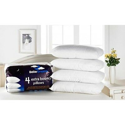 Deluxe Quality Luxury Super Bounceback Pillows 2/4/6/8 Packs