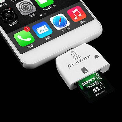 3 in 1 Multifunctional Micro USB Smart Card Reader for OTG Smartphone HS