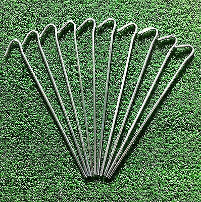 """20 x Heavy Duty Camping Tent pegs. Ideal for Tents, netting, gardening etc. 9"""""""