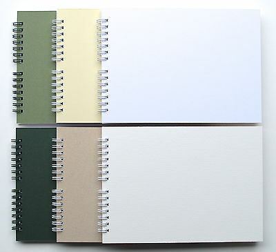 Mountboard Blank Scrap Book / Guest Book / Photo Album A5, 20 Pages, Acid Free