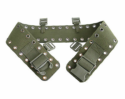 Genuine German Army BW Olive Drab Heavy Duty Hip Belt Tools Equipment Carrier
