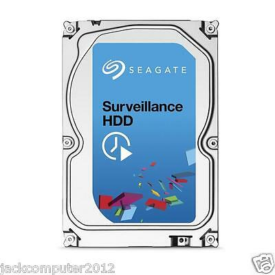 "Seagate Surveillance HDD 3.5"" 3TB Internal Hard Drive 3 TB ST3000VX000 for CCTV"