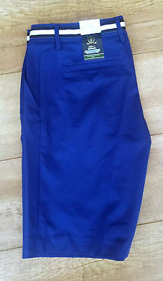 Genuine Tommy Hilfiger Womens Arielle Golf Short TW662 Size 10 US6 Sodalite Blue