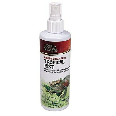 Zilla Humidifying Spray Tropical Mist 8oz free shipping