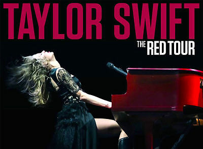 TAYLOR SWIFT RED tour book programme poster ticket NEW