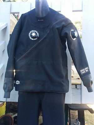 Bare HD Tech Trilam Drysuit, Size ML, Boots XL (10-11) Like new!!!