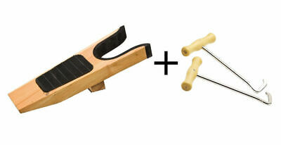 New Boot Shoe Jack remover+Boot Hook pulls Western Wellingtons Riding Hiking